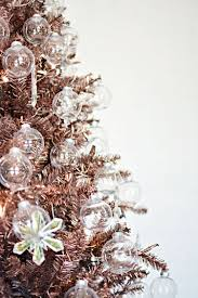 rose gold christmas tree christmas u0026 winter pinterest rose