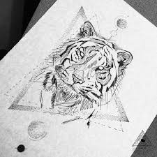 tiger forearm tattoo designs tattoo triangle cross watercolor rose flower all seeing eye red