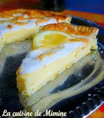 cuisine tarte au citron tarte au citron meringuée recette facile et rapide la cuisine