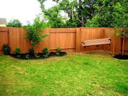 White Backyard Fence - exteriors lovable backyard fence designs ideas home interiors