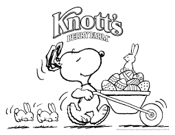 peanuts happy thanksgiving snoopy easter coloring pages pic 205 ostern pinterest