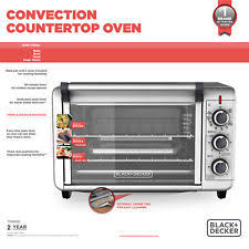 Toaster Oven Black Decker Black And Decker Toaster Oven Ebay