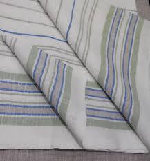 linen cotton fabric striped textile eco friendly bed linen