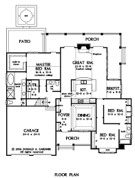 Donald A Gardner Floor Plans Home Plan The Jenner By Donald A Gardner Architects