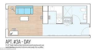 What Does 300 Square Feet Look Like 400 Sq Ft Apartment Floor Plan Excellent 14 Tiny House Floor Plans