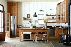 cuisine bois rustique meuble cuisine ilot central deco cuisine cagne cuisine rustique