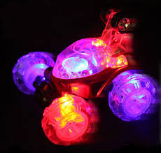 light up remote control car car styling electric stunt car remote control wingover dump car boy