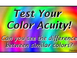 color difference test test your color acuity youtube