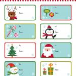 free printable christmas gift tags templates printable template