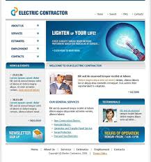 website design 15562 electric contractor bulb custom website