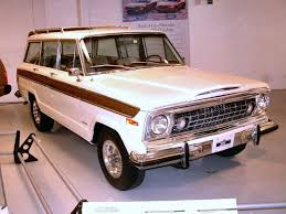 wagoneer jeep 2018 1973 jeep wagoneer white fvr garage wpc museum f moving to me