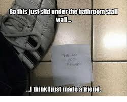 Bathroom Stall Meme - handicap bathroom stall meme pkgny com