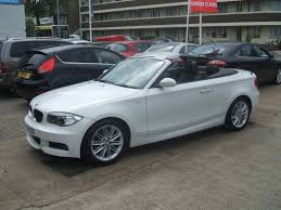 white bmw 1 series sport bmw 1 series 120d m sport convertible for sale from walker car
