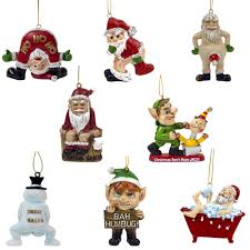 Naughty Decorations Naughty U0026 Fun Novelty Hanging Christmas Tree Decorations U2013 The