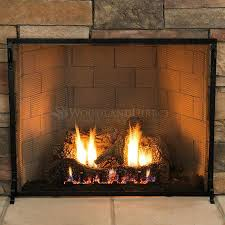 Where To Buy Outdoor Fireplace - fireplace screen replacement where to buy mesh anti fire outdoor