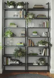 Industrial Bookcase With Ladder by Bookcases With Plants Home Pinterest Industrial Plants And