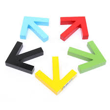 Home Decor Icon Arrow Shape Hook Clothes Rack Wall Mounted Hanger Home Decor At
