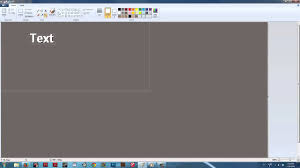 how to give text outlines in paint digital art u0026 ms paint youtube