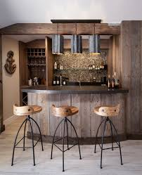 home bar ideas home bar beach style with galvanized steel natural