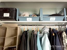 coat closet organization how to create a killer system on the cheap