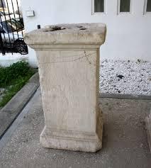 Greek Pedestal File 7780 Piraeus Arch Museum Athens Pedestal Of A Statue To