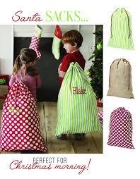 personalized santa sack personalized santa sack monogramjunkie