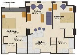 4 X 7 Bathroom Layout Building A Cva Graduate Students University Housing Services