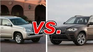 lexus suv vs bmw suv lexus gx 460 vs bmw x5 carsdirect