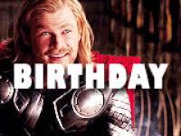 Thor Birthday Meme - happy birthday chris farley gifs popkey