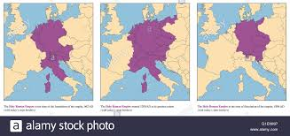 Map Of Medieval Europe Holy Roman Empire Rise And Fall Of The Medieval Europe Empire