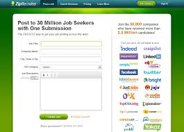 Online Resume Posting Sites by Ziprecruiter Pricing Features Reviews U0026 Comparison Of