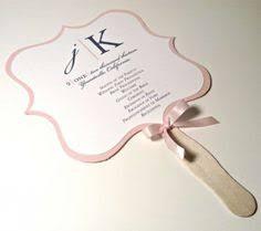 how to make wedding program fans program fans custom wedding programs fans for wedding
