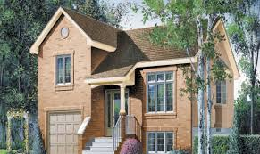 bi level house plans with attached garage home designs ideas