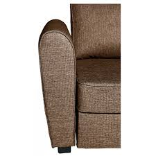 Corner Recliner Sofa Fabric by Siena Dual Facing Fabric Corner Sofa Bed With Storage Choc At