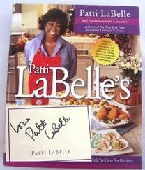 singer cuisine lite cuisine singer patti labelle signed edition cookbook