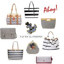 nautical bag ahoy matey nautical handbags for 2014 listen to lena