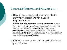 Scannable Resume Resume Writing Workshop Ppt Download