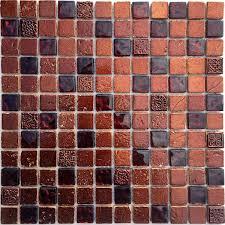 Salle De Bain Avec Mosaique by Mosaique De Salle De Bain Et Metallic Marron Carrelage