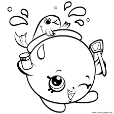 138 shopkins coloring pages images