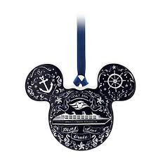 Cruise Ornament Mickey Mouse Icon Ornament Disney Cruise Line Disney Cruise
