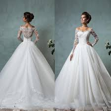 Bride Gowns Wedding Sweet And Elegant Long Sleeved Wedding Dresses For