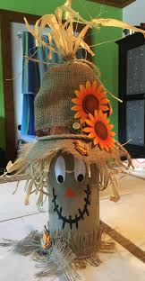 scarecrow halloween decorations best 25 fall wine bottles ideas on pinterest easy table