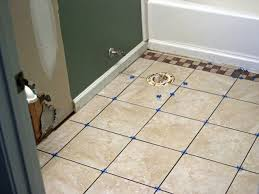 ceramic tiles for bathroom floors with how to install floor tile