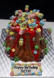 all vegan lego volcano cake cakecentral com