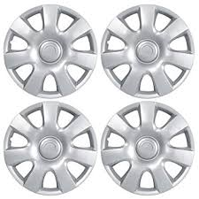 toyota camry hubcaps 2003 amazon com bdk toyota camry hubcaps wheel cover 15 silver