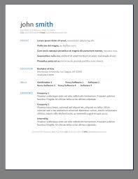 free contemporary resume templates gallery of primer s 6 free resume templates open resume templates