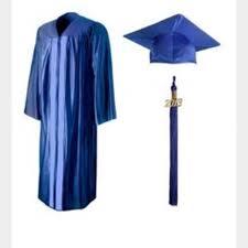 jostens graduation gowns jostens jackets blazers blue cap and gown universal royal blue