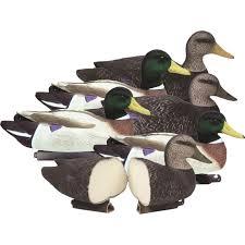 higdon powers pack battleship foam filled mallard duck decoys with