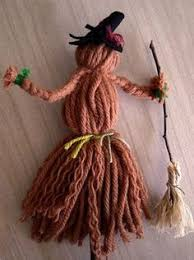 Vintage Kitchen Witch Doll by Flying In A Tree Kitchen Witch Clothespin Doll Kitchen Witch