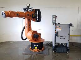 kuka kr200 robot w krc2 controller complete robotic system abb